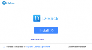iMyFone D-Back Recovery Crack Serial Key Download For Full Version